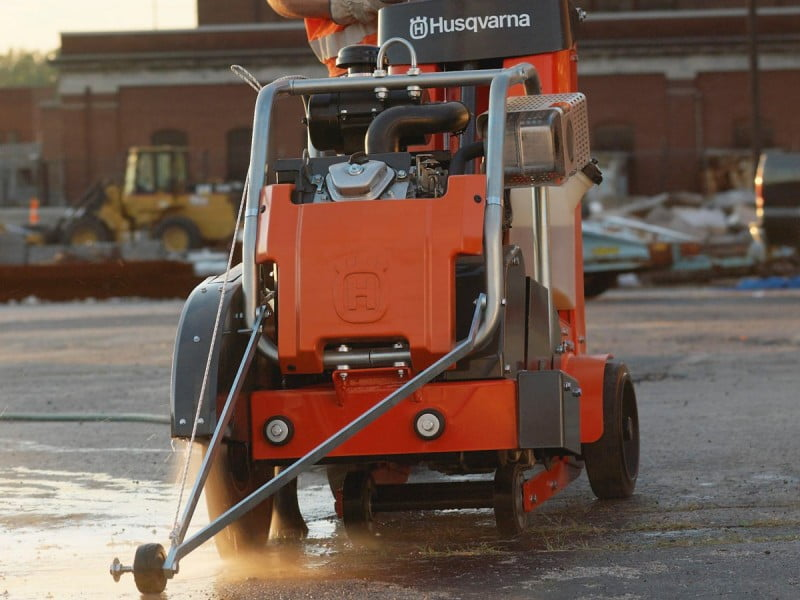 Westcut - Slab / Asphalt cutting - Photo © Husqvarna AB
