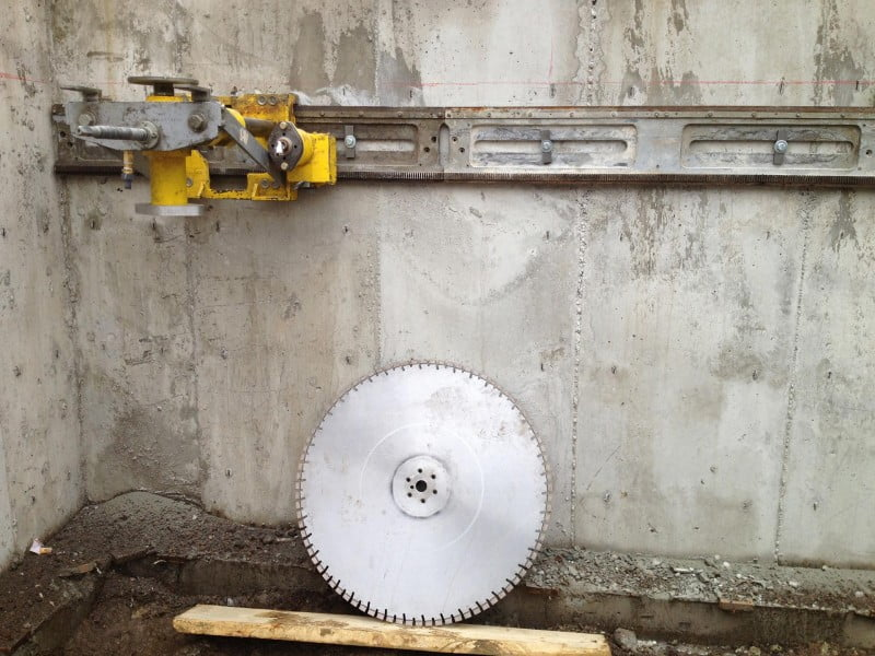 Westcut - Concrete Wall sawing